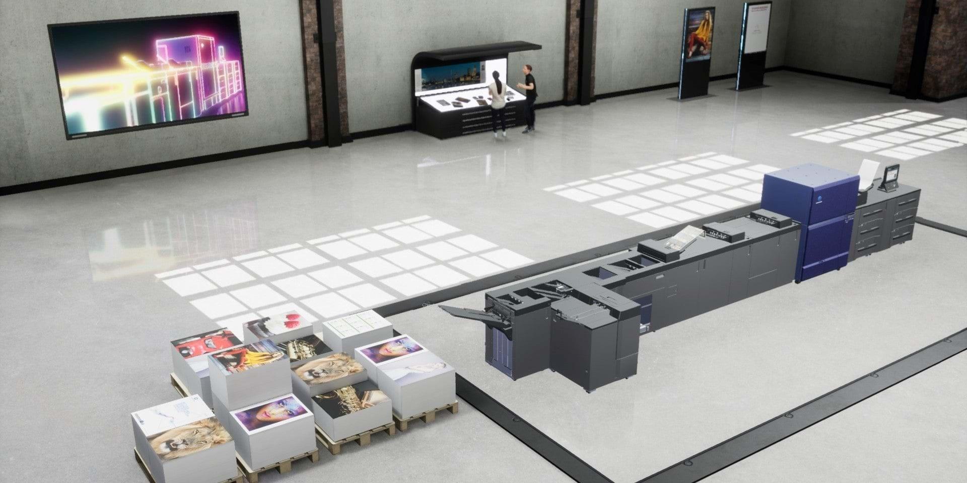 Виртуален шоурум на Konica Minolta