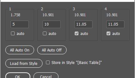 Нов скрипт улеснява работата с таблици в InDesign