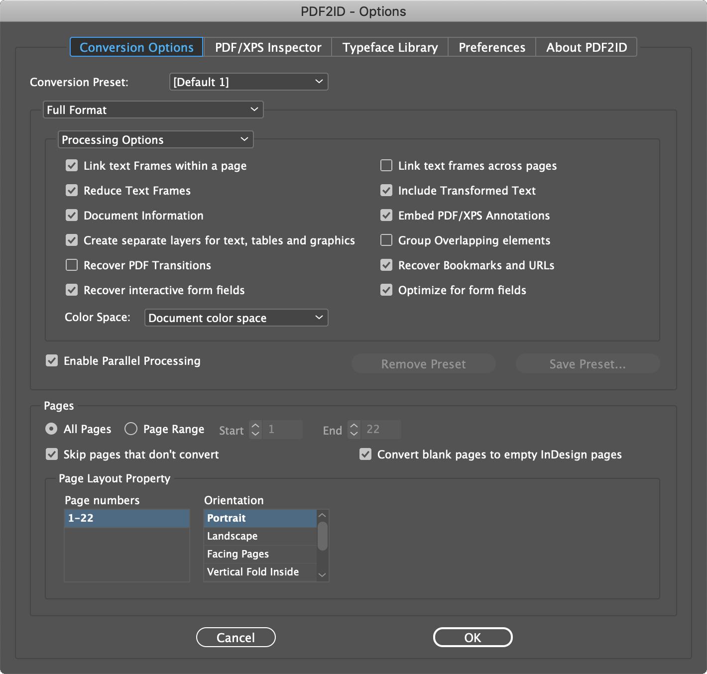 Конвертирай PDF в Indesign файлове с новата версия на PDF2ID