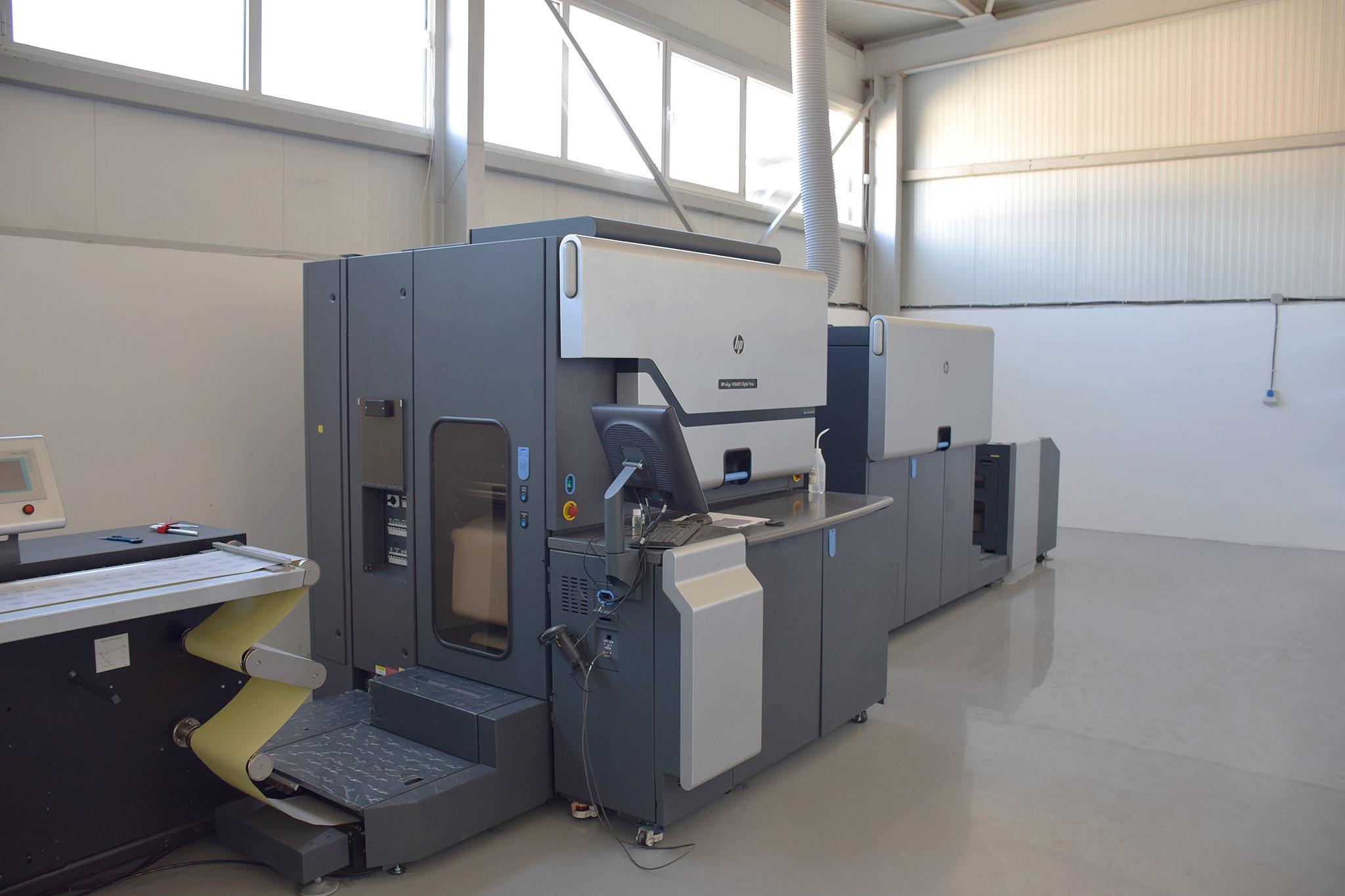 Печатница Дъга Плюс пусна в експлоатация две нови машини