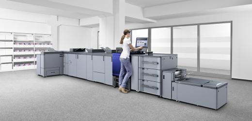 Нова серия дигитални печатни машини на Konica Minolta