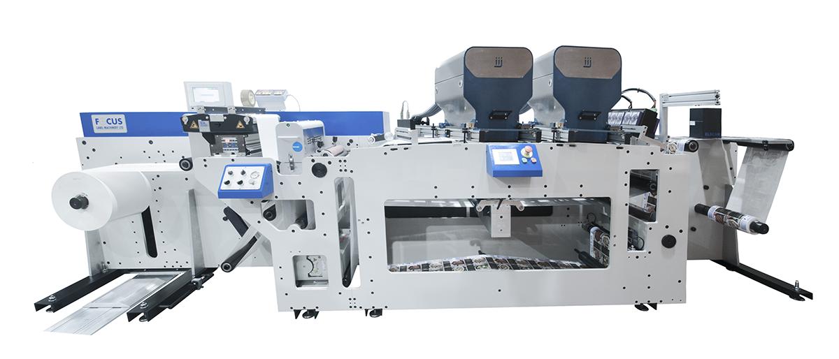 Хибридни машини за ролен печат от Focus Label Мachinery