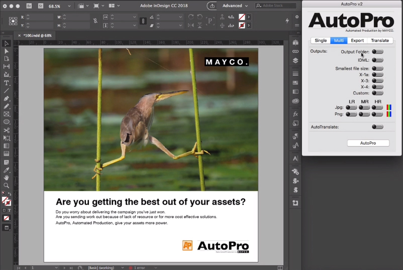 Софтуер автоматизира създаването на адаптации на вашите рекламни проекти