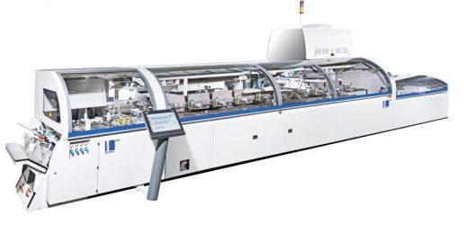 Правилната машина за лепилно скрепване за Eurographic Group