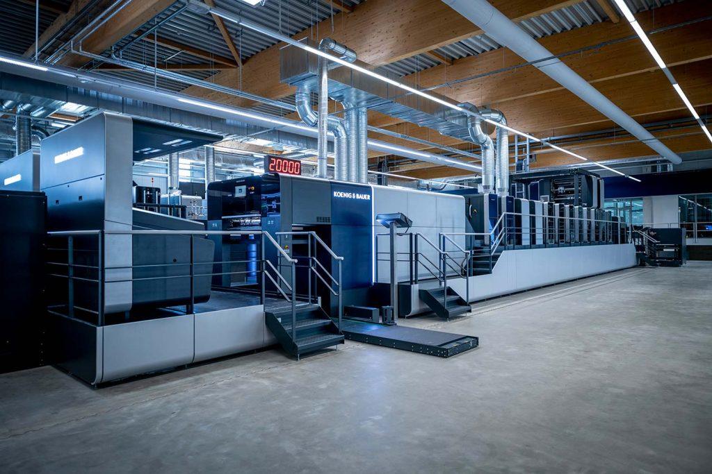 Koenig & Bauer виртуалната drupa