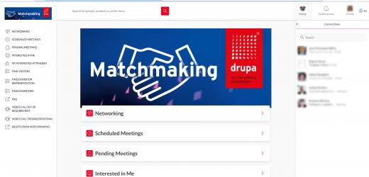 Network Plaza – платформата за срещи на drupa