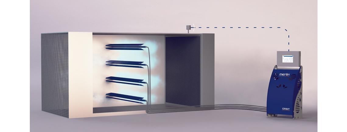 Овлажняване на въздуха интегрирано във вентилационни канали