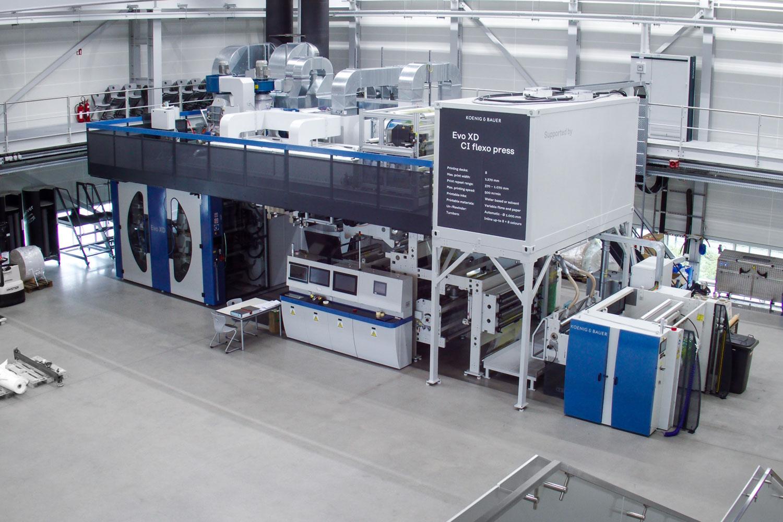 Koenig & Bauer разширява своя демо център във Вюрцбург