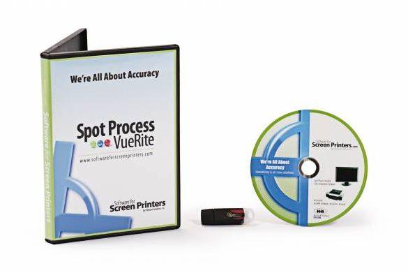 Spot Process VueRite Color Separation Software