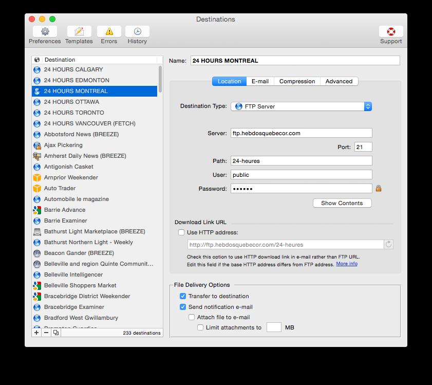 Deliver – ъплоудвайте файлове с известия по имейл