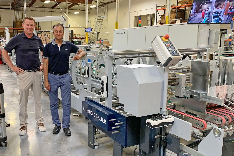 Удвоена производителност с новата сгъвачно-лепачна машина AllPro 110