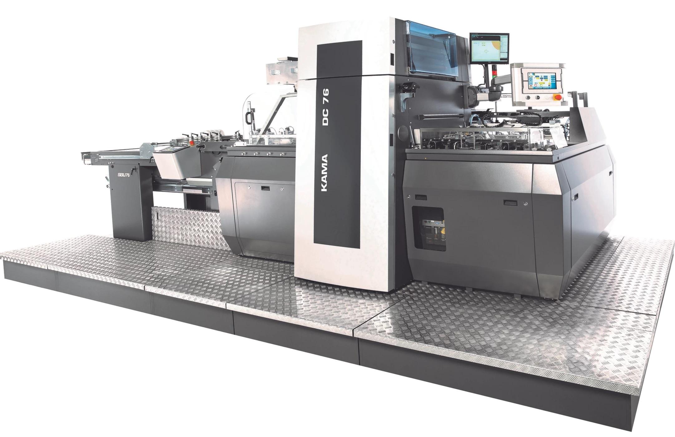Автоматизация на довършителните процеси от KAMA GmbH