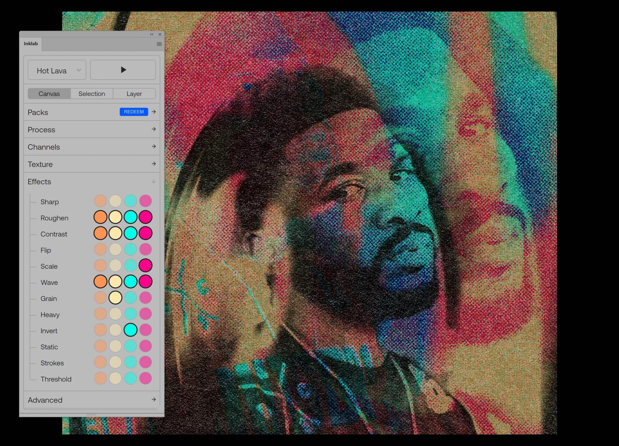Плъгин създава изображения с ефект на печат