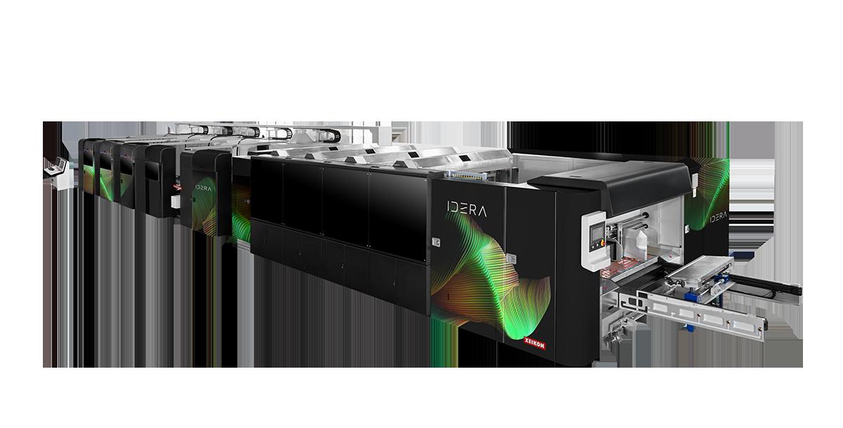 Първата Xeikon Idera ще бъде инсталирана в американска компания