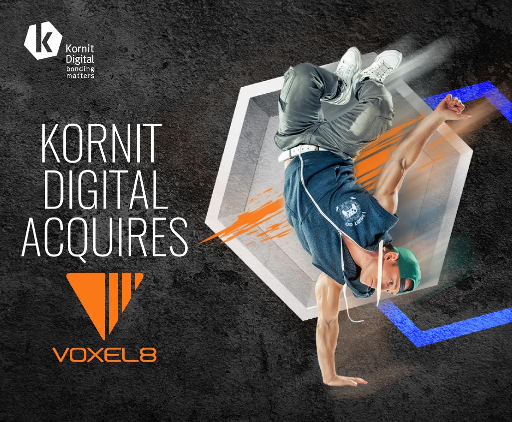Kornit Digital придобива Voxel8