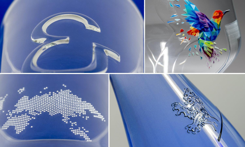 Нов начин за декориране на стъклени опаковки и изделия