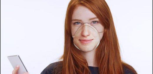 Персонализирана респираторна маска срещу коронавирус
