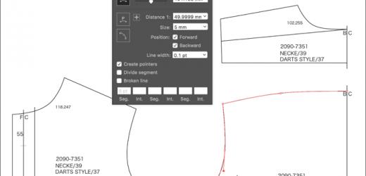 Софтуер улеснява създаването на кройки за дрехи