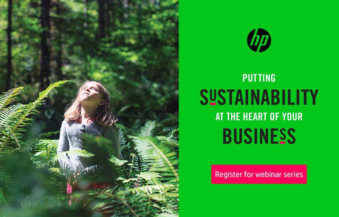 Безплатни уебинари на HP свързани с устойчивостта на бизнеса