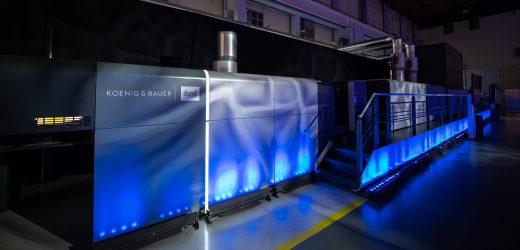 Най-доброто от двата свята: световна премиера на VariJET 106 oт Koenig & Bauer Durst